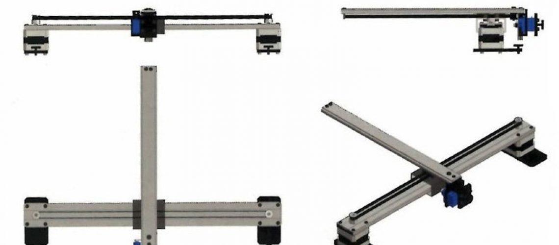 Niks-CNC-plotter-parts